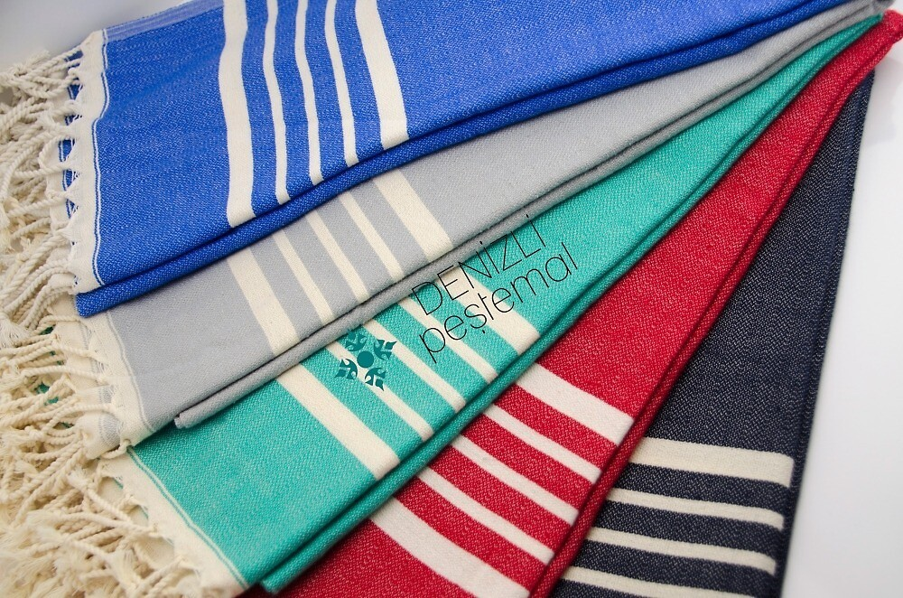 Best Place To Buy Turkish Bath and beach Towels In Denizli by Denizlip2