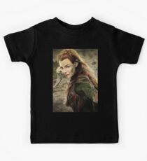 Tauriel Portrait- The Hobbit, Desolation of Smaug Kids Clothes