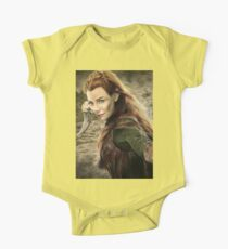 Tauriel Portrait- The Hobbit, Desolation of Smaug Kids Clothes