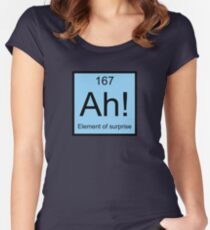 Ah! Element Of Surprise Women's Fitted Scoop T-Shirt