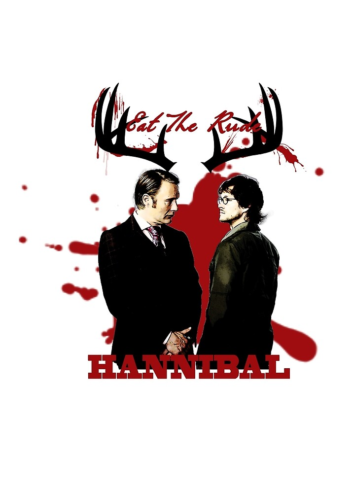 Hannibal & Will - Eat The Rude by Sylvadove