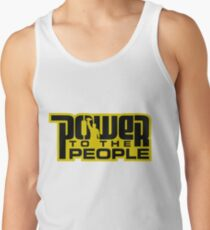 Power To The People - GOLD Tank Top