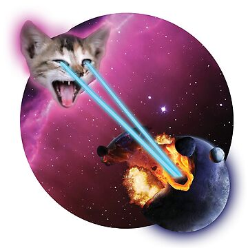 Laser Cat, Destroyer of Planets by Nadinosaur8