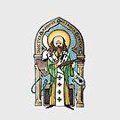 The Patron Saint of Rock by sparklellama