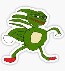 Sonic Pepe  Sticker