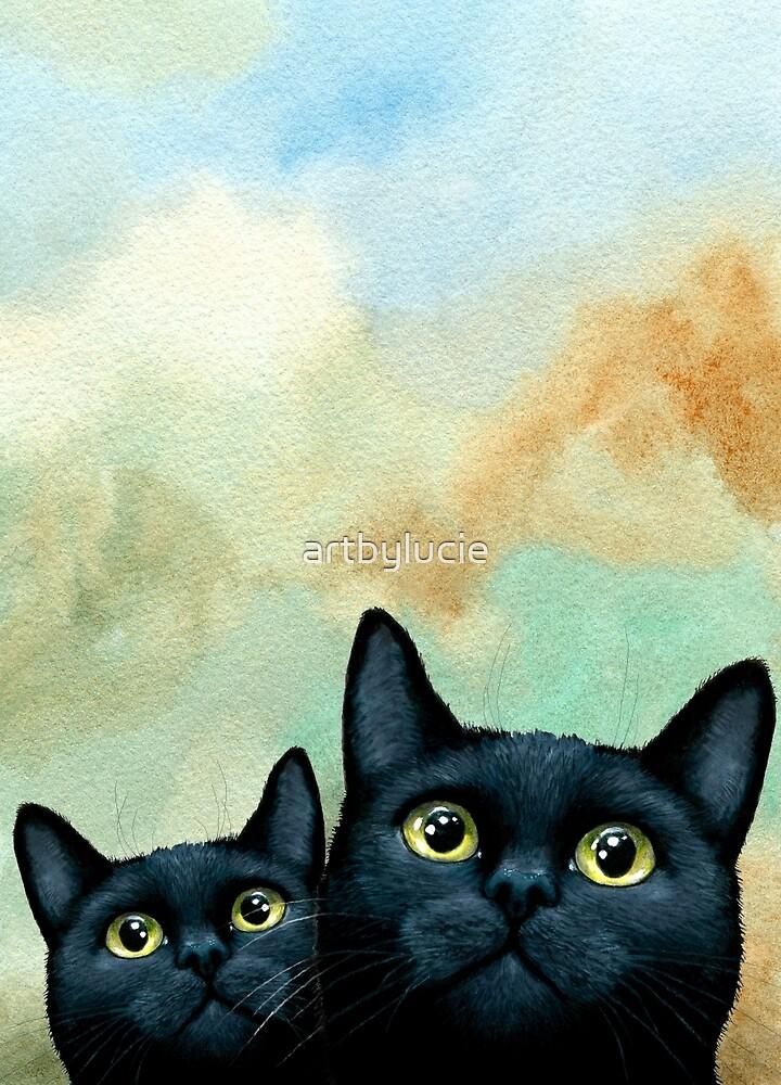 Cat 607 by artbylucie