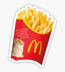 FRIES (before guys) Sticker