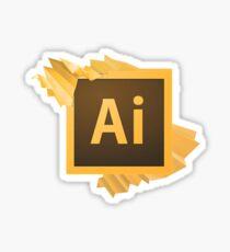 Adobe Illustrator Logo Sticker