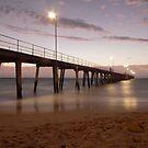 New Years sunset: Port Noarlunga by Brett Conlon