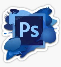 Photoshop Logo Sticker