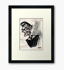 psychobilly rockabilly Framed Print