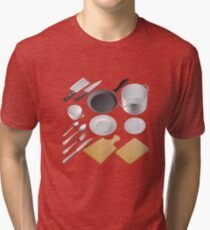 Kitchen tools Tri-blend T-Shirt