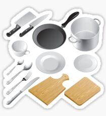 Kitchen tools Sticker