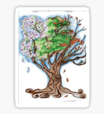 Magnolia's Seasons Sticker