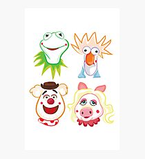 Muppets Photographic Print