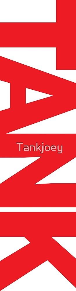 Tank logo vertical by Tankjoey