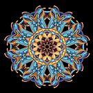 Blue Blade Mandala by pelmof