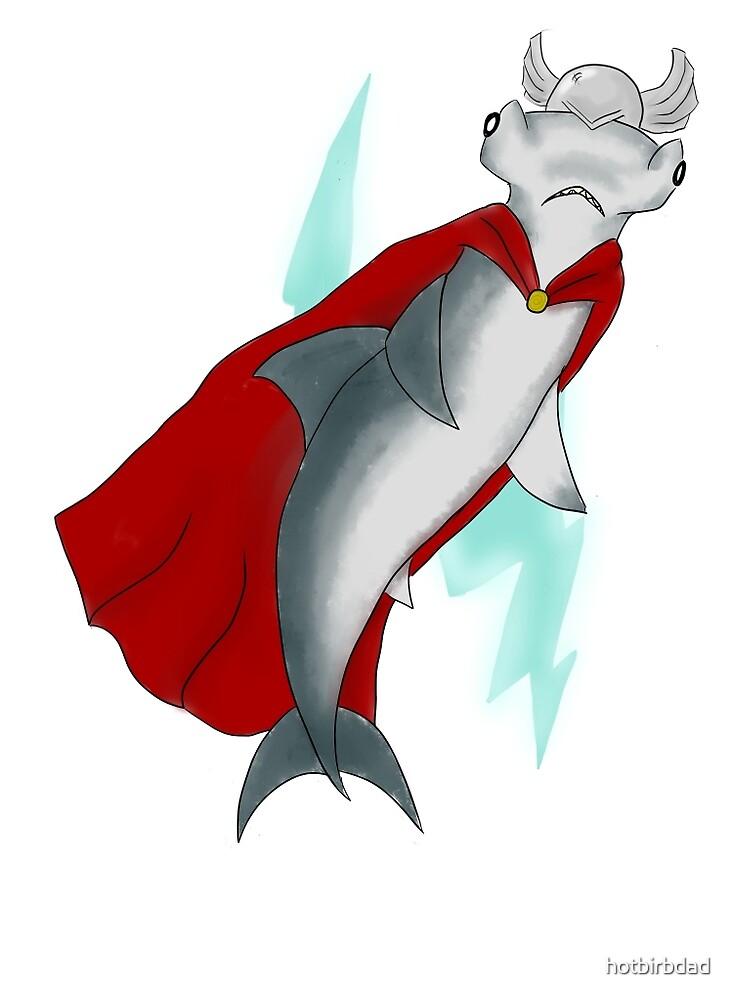 Mjolnirhead Shark by hotbirbdad