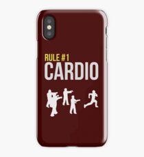 Zombie Survival Guide - Rule #1 Cardio iPhone Case/Skin