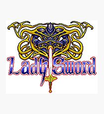 Lady Sword - Turbografx/PC-Engine Title Screen Photographic Print