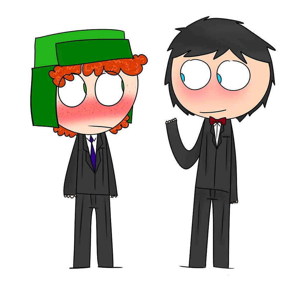 Fancy Stan and Kyle by moon6oy