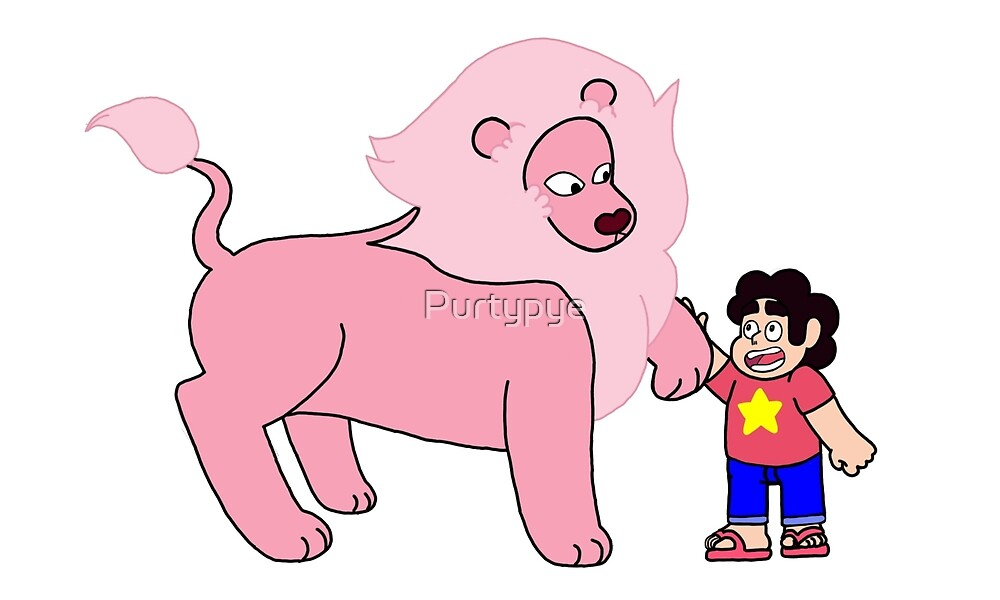 Steven and his Lion by Purtypye