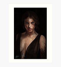 High Lady of the Night Court Art Print