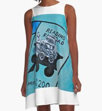 Take a ride on the reading  A-Line Dress
