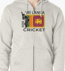Sri Lanka Cricket Zipped Hoodie