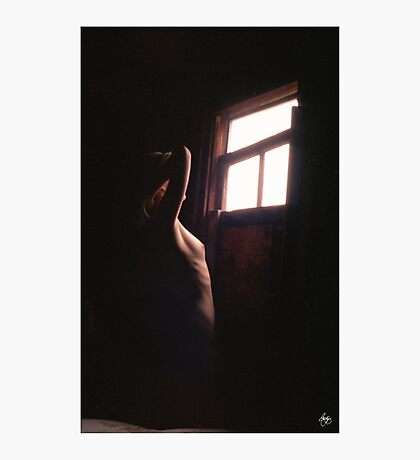 Woman at the Window Photographic Print