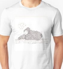 Tangled Sleepy Sheep Unisex T-Shirt