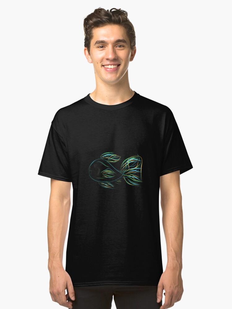 Neon goldfish Classic T-Shirt Front