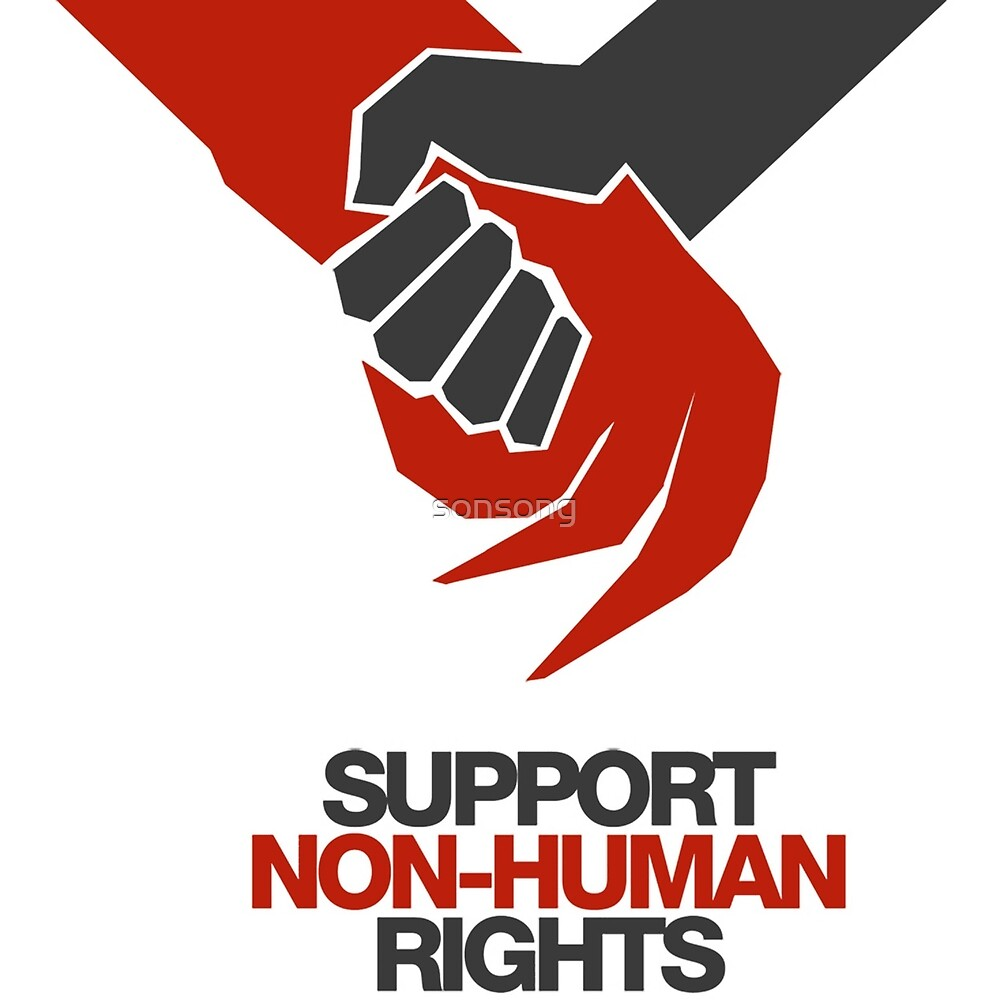 Support Non Human Rights by sonsong