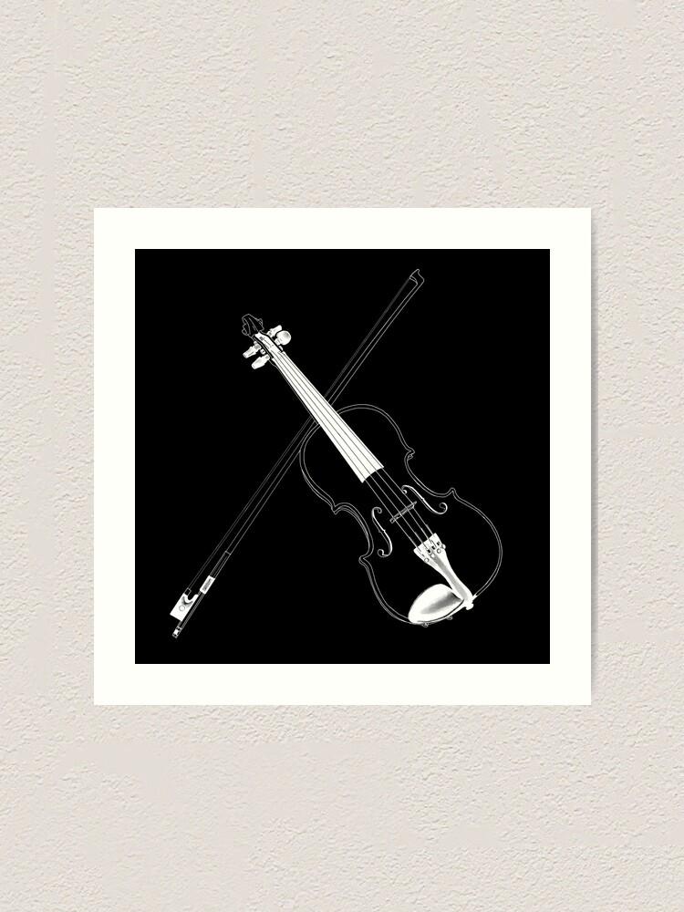Alternate view of Violin Art Print