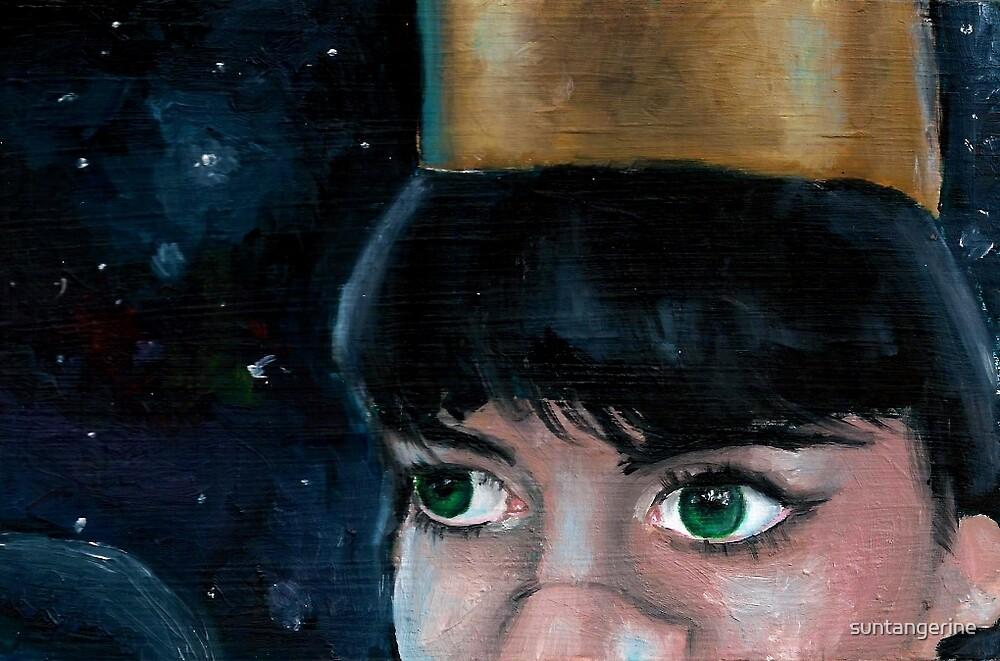 The Queen of Space by suntangerine