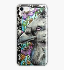 Spring Corvid iPhone Case/Skin