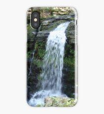 Beautiful waterfall in Pennsylvania iPhone Case