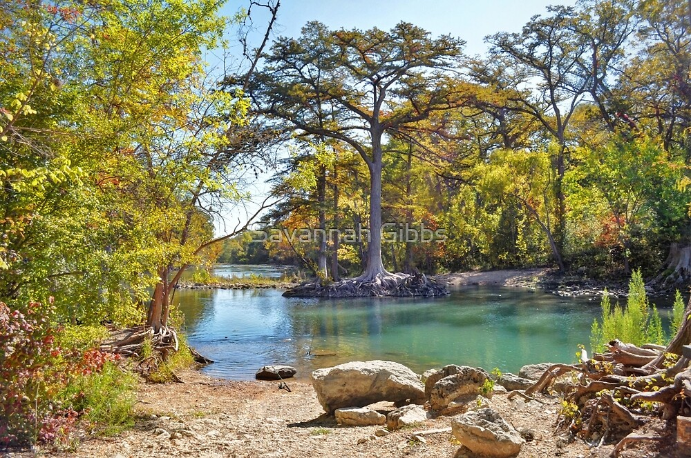 Guadalupe River by S Gibbs