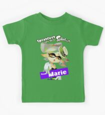 Splatfest Team Marie v.1 Kids Tee