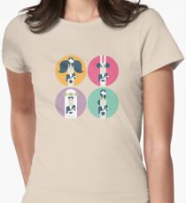 Frank Zappa (portrait) Womens Fitted T-Shirt