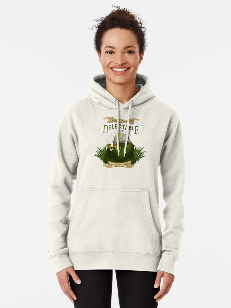 Alternate view of Iroh's Delectable Tea Pullover Hoodie