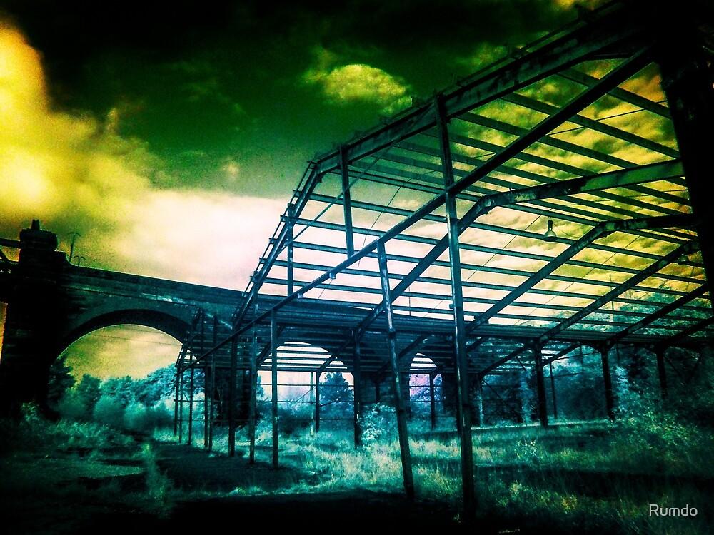Abandoned Warehouse by Rumdo