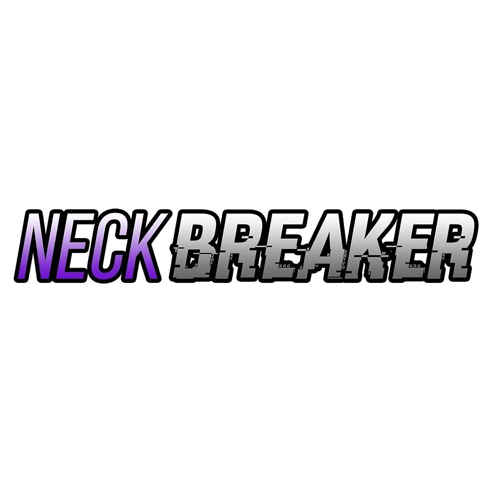 Neck Breaker JDM Sticker by jaj-works