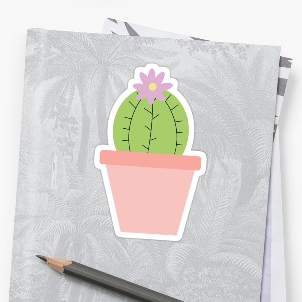 Cactus Sticker by Amy Elizabeth