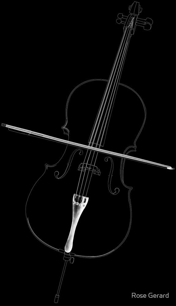 Cello by Rose Gerard