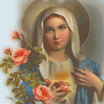 Madonna of May by trash