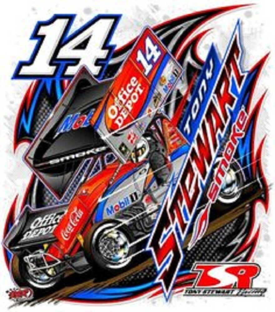 Tony Stewart World of Outlaws by Bonk0matic