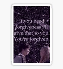 Bellarke Forgiveness Sticker