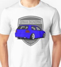 German Engineering -Blue T-Shirt
