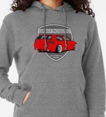 German Engineering -Red Lightweight Hoodie